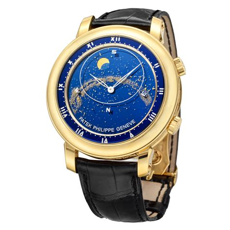 pre owned patek philippe celestial yellow gold
