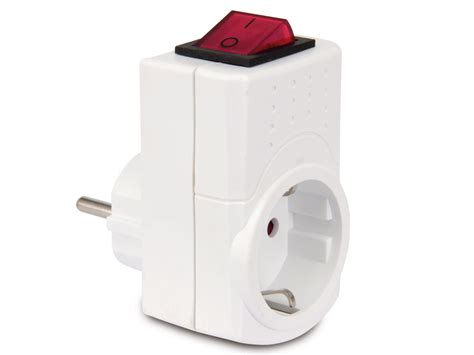 wandle mit schalter und stecker schutzkontakt stecker mit schalter rev 0512085777