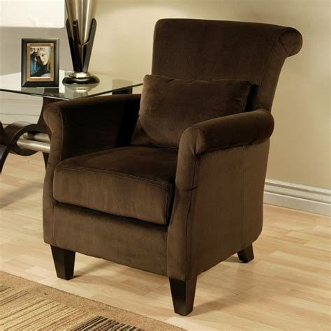 small livingroom chairs living room cozy brown armchair design with