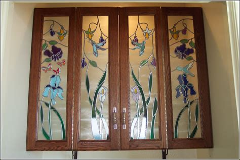 leaded glass kitchen cabinet doors tin door inserts metal sc 1 st 8928