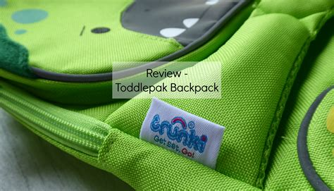 trunki toddlepak backpack review giveaway stacey