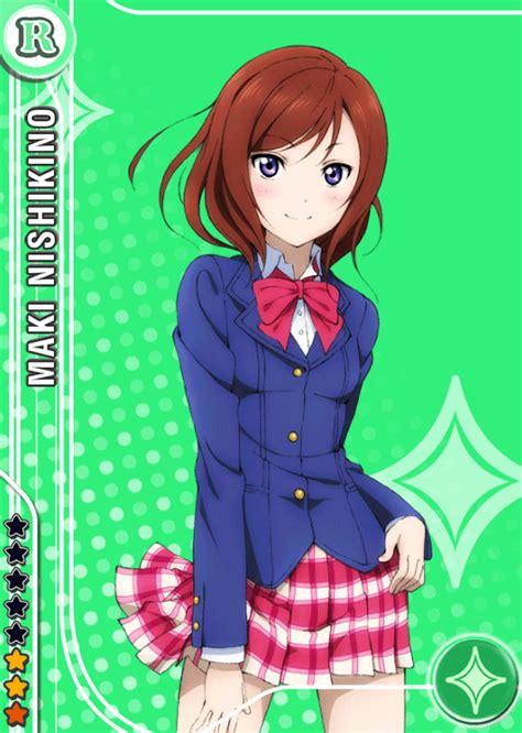 school idol tomodachi cards album  nishikino maki