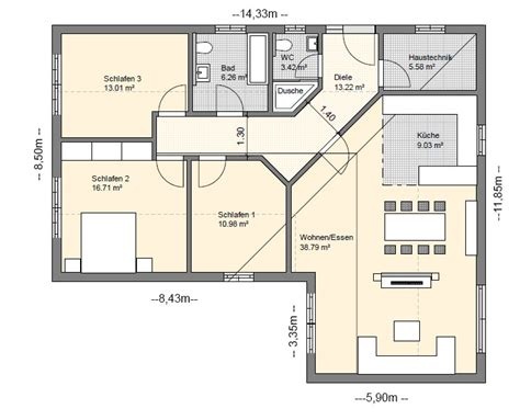 Bungalow 5 Zimmer Grundriss by Bungalow Grundrisse 220 Bersicht Mit Vielen Bungalow