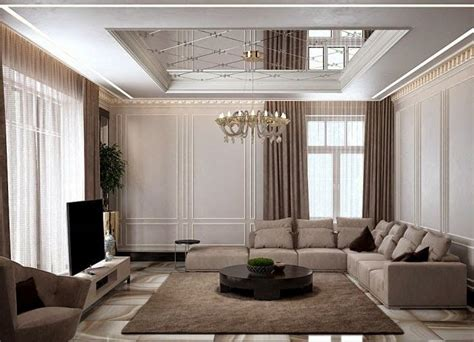 Moderne Deckenverkleidung Wohnzimmer by Modern Pop False Ceiling Designs For Living Room 2015