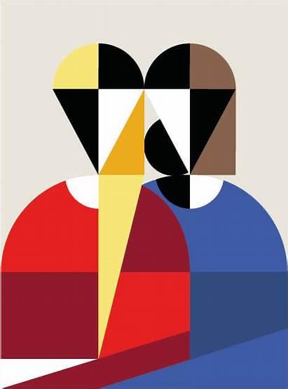 Geometric Illustrations Behance