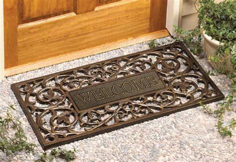 outdoor welcome mats wooden outdoor welcome mats offer many benefits to
