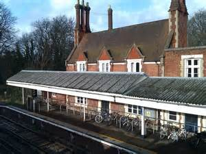 Barnes Station Building Seen From The... © David Martin