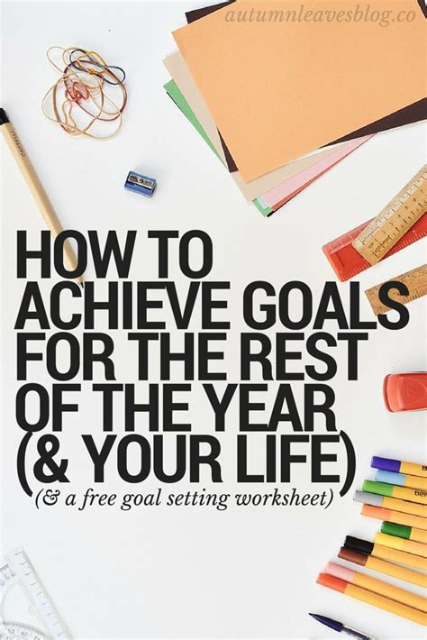 200 best about goal setting printables motivation on free printable