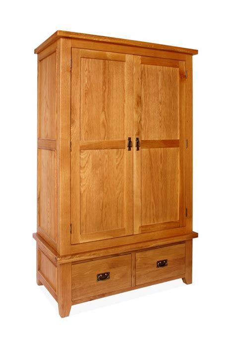 Two Door Wardrobe Closet by Canterbury 2 Door 2 Drawer Wardrobe