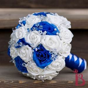 Blue And White Flowers Bouquet | www.pixshark.com - Images ...