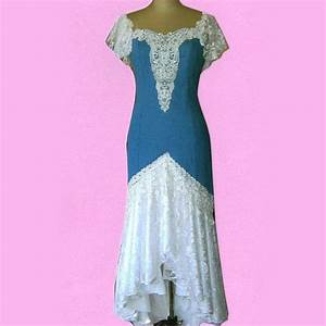 Denim wedding dress amy39s wedding pinterest for Western denim wedding dresses