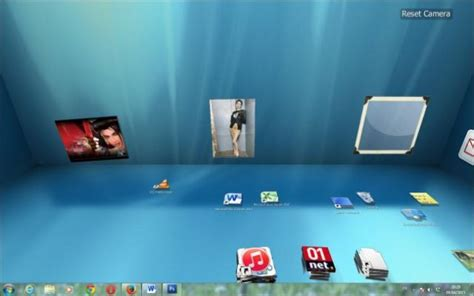 icones bureau windows 7 bureau en 3d sous windows 7 astuces pratiques