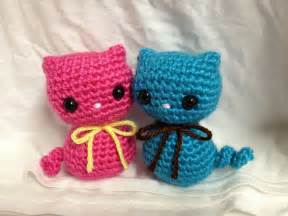 Free Crochet Pattern Kitty Cats