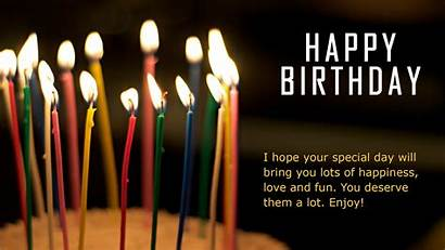 Wishes Birthday Happy Wallpapers Greeting Background Desktop