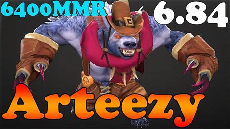 dota 2 patch 6 84 arteezy 6400mmr plays ursa ranked match gameplay youtube