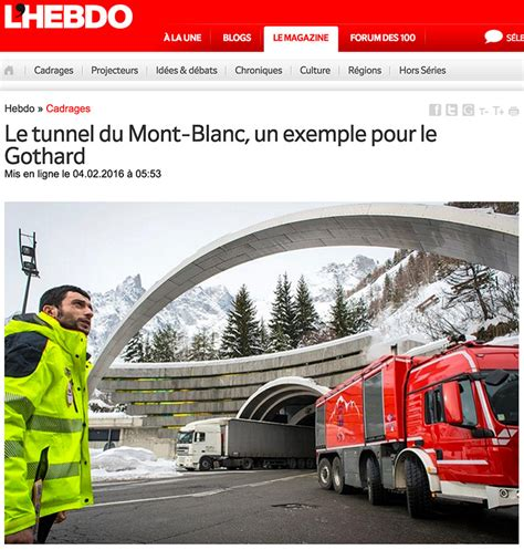 le tunnel du mont blanc reportage photo sur le tunnel du mont blanc nicolas righetti