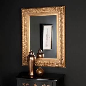 miroir marquise or 125x95 maisons du monde With maison du monde miroirs