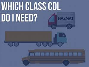 Which Class Cdl Do I Need