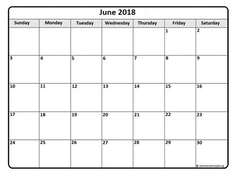 calendar template june 2018 june 2018 calendar 56 calendar templates of 2018 calendars printable calendar