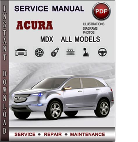 acura mdx owners manual acura mdx service repair manual download info service