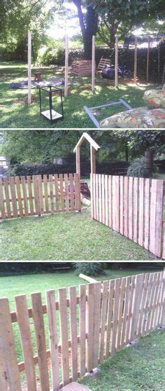 Portable Backyard Fence by Portable Fence More Concrete Ideas
