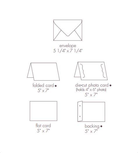 5x7 envelope template 8 sle 5 215 7 envelopes sle templates