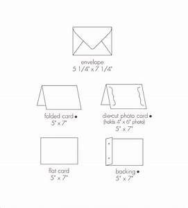 8 sample 5x7 envelopes psd vector eps pdf With 5x7 envelope template word