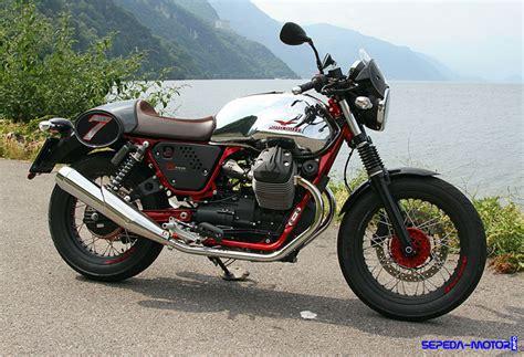 Gambar Motor Moto Guzzi V7 Ii by Piaggio Moto Guzzi V7 Ii Racer Motor Vintage Cafe Racer