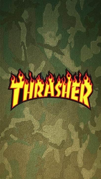 Thrasher Iphone Simpson Hype Trippy Homescreen Aesthetic