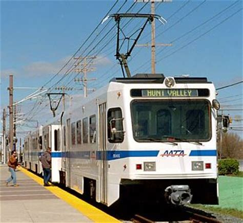 maryland light rail baltimore six stations reopened after upgrading of lrt line