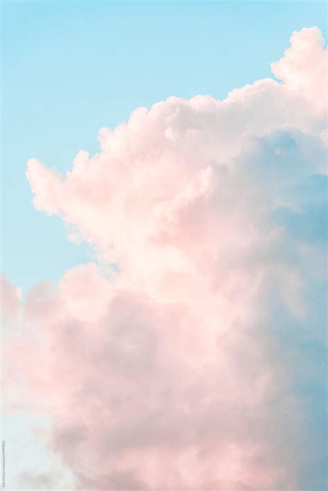 pastel clouds  lina kiznyte stocksy united