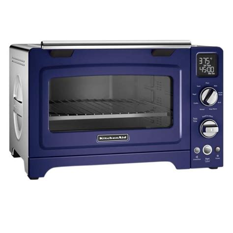 Kitchenaid Toaster Blue by Kitchenaid 2000 W 4 Slice Cobalt Blue Convection Toaster
