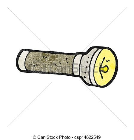 Cartoon Electric Torch Eps Vector  Search Clip Art