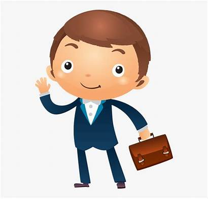 Clipart Appearance Businessman Thinking Cartoon Person Clipartkey