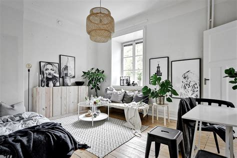 Tiny Scandinavian Studio Loft by Scandinavian Studio Apartment This Style Are You