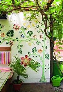 10 Beautiful DIY Garden Mosaic Projects Home Design And