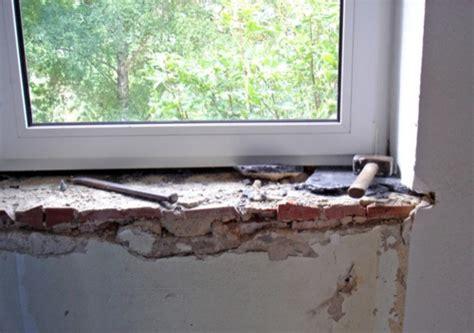 davanzali interni in legno sostituzione di un davanzale in marmo infoperte
