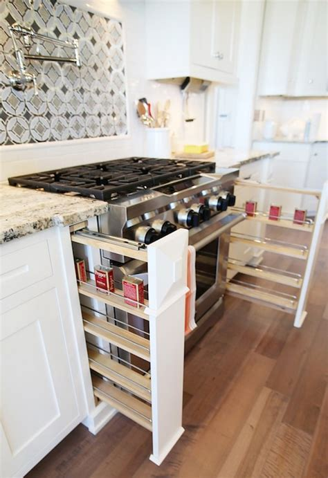 The Range Spice Rack by Cooktop Spice Cabinet Design Ideas