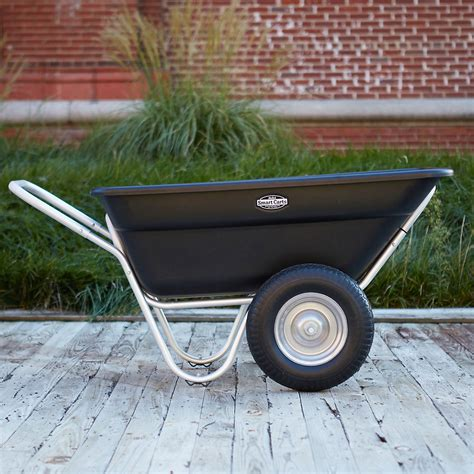 2 wheel garden cart two wheel garden cart terrain 3824