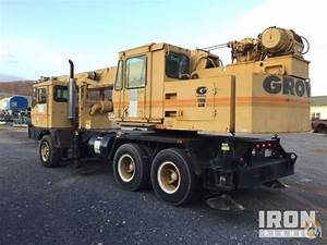 Sold 1985 Grove Tms