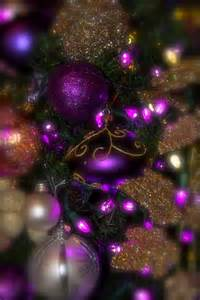 xmas decorations royal purple gold tree christmas xmas purple violet ashes xmas