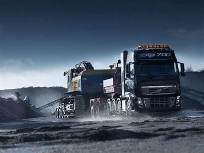 Truck Semi Trailer Background Wallpapers