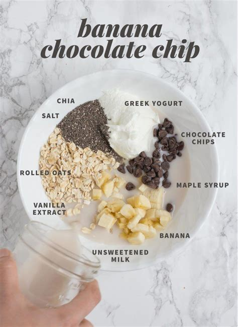 You're up before the sun rises and still like i said, it really depends upon how many calories you're taking in but this is something that you can enjoy for breakfast, lunch, dinner, or postworkout. Classic Vanilla Overnight Oats | Recipe | Overnight oats recipe, Oats recipes, Chocolate ...