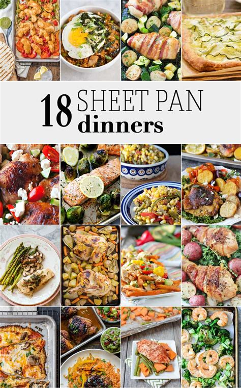 pan sheet dinners recipes easy dinner food recipe chicken meals fajitas cookie suppers thecookierookie meal healthy cooking any dorm weeknight