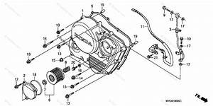 Honda Motorcycle 2001 Oem Parts Diagram For Right