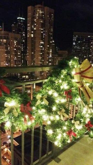 apartment patio christmas decorating ideas 17 cool balcony d 233 cor ideas digsdigs