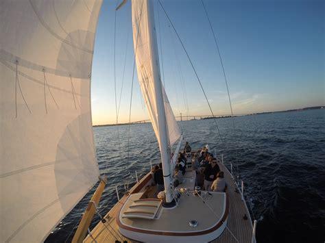 Newport Boat Tours by Sloop Eleanor Sail Boat Tours Newport Ri