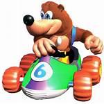 Banjo Bear Kong Diddy Racing N64 Characters