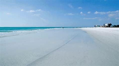 floridas siesta beach named  beach