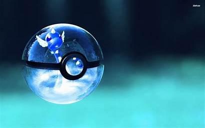 Pokemon Pokeball Anime Wallpapers Backgrounds Glass Ball